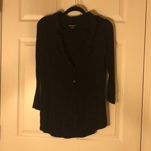 Button up black long sleeve